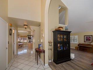 Private Sanctuary! Spacious living area, minutes from Santa Barbara and Malibu.