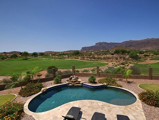 Gorgous Golf Course Home in Gold Canyon with Private  Pool/Mt Views