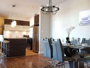 NEW AMAZING CONDO!! In Plateau-Mont-Royal area.