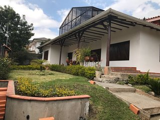 Beautiful  Rustic and Modern Complete House 15 min From Cuenca Historic Center