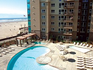 4th of July Week!!   2 Bedroom  Condo Beachfront * Seaside Worldmark