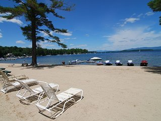 Lake Winnipesaukee condo Close to Gunstock w/indoor pool. FALL SPECIALS!