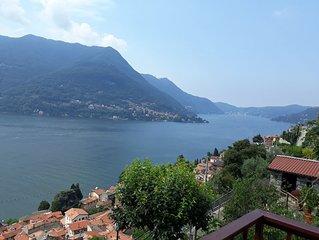 Ca Sassello :Nature, lake,  the beautiful lake of Como