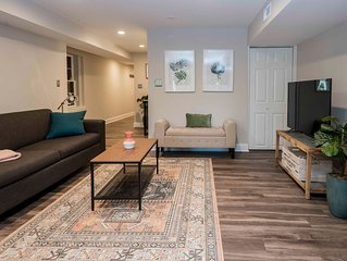 Brand New! Private garden apartment in historic Upper Fells Point