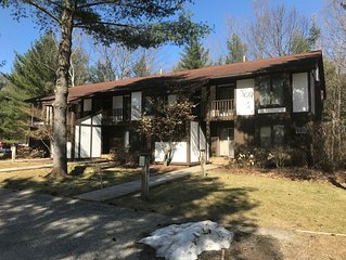 Beautiful Ground Level 2 bedroom condo nestled in the woods on the Shanty Creek