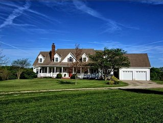Broadwings Country Home with gorgeous views