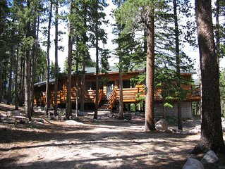 Shadow of Longs Peak - Seclusion & Tree Top Mountain Views on 15 Acres!