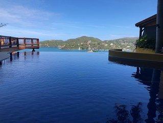 Luxury Condo overlooking Playa La Ropa