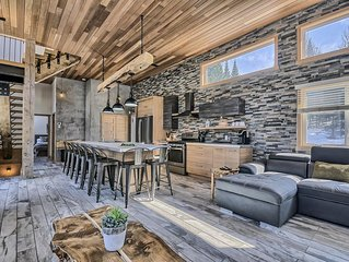 Loft style chalet, directly in nature ,Domaine Grand polar deers