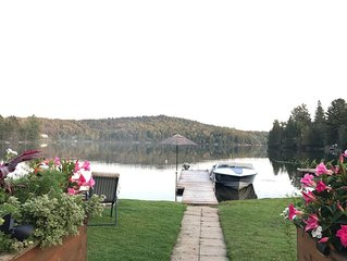 Cozy up this season at our Blue Sea Lake chalet ***NOW with WIFI****