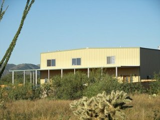 Home on Flying Diamond Airpark with attached hangar