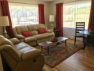 Mid-century themed home on river perfect for day to Durango or Mesa Verde