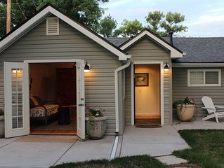 Beautifully remodeled cottage steps from Olde Town action