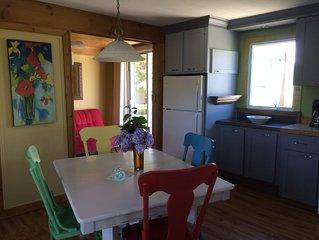 Cottage Baie St Paul near to the beach !  Chalet près de la plage Baie St Paul !
