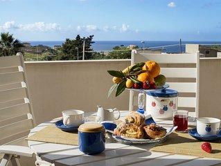 Stylish apartment Villa Gioia, confort e relax con spettacolare vista mare.