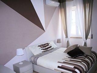 Appartamento nuovo e confortevole, con splendida vista sulla Reggia di Caserta