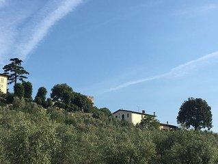 Tranquilla Villa con Vista panoramica su Firenze