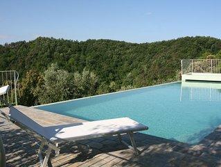 Villa Banti - Casa indipendente con giardino, piscina e vista panoramica.
