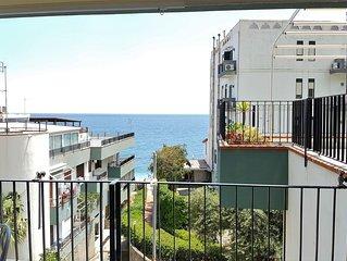 Appartamento  con vista mare e accesso diretta sulla spiaggia