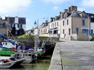 A'MAG Maison vue sur embouchure de la vilaine  port de Tréhiguier