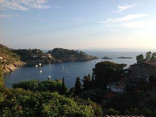 Villa Isola del Giglio con Vista Mare, Terrazza, Giardino privato