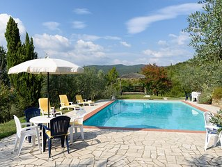Tuscan Family cottage for 4 (plus), with pool