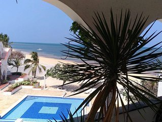 Charming beach Penthouse in Malindi , nice pool and private Housekeeping