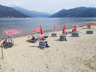 Piazza XX Settembre a due passi dal lago Germignaga