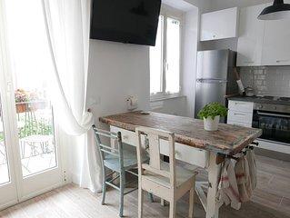 ☼Elegante casa vista mare sul lungomare, ideale per famiglie e coppie di amici☼