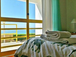 Great view, pool, tennis luxury condominium 24h guard 5' from ocean 10' town