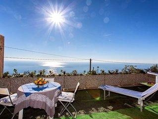 Amalfi Coast'Domus Tovere' Meravigliosa vista mare con profumi di  limoni!