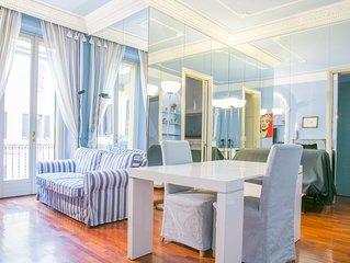 Blue Marine flat * 5 Giornate (Milan centro, free wifi, AC)