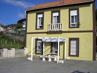 Vigo: Casa residencia vacacional.- Planta BAJA