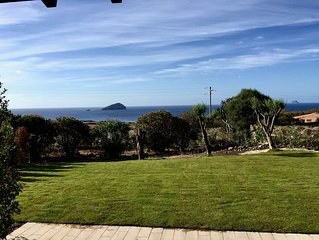 Peonia Rosa - Villetta sul mare con vista mozzafiato sull'isola della Vacca