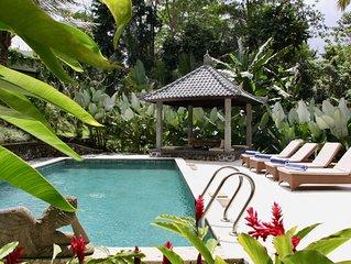 Bali Ubud : Villa Hutan Sawah - Villa au coeur de la nature balinaise