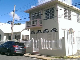 Beach view apartment within walking distance to Playa Rompeolas Aguadilla
