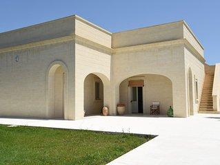 Villa in pietra leccese Salento Lecce Puglia