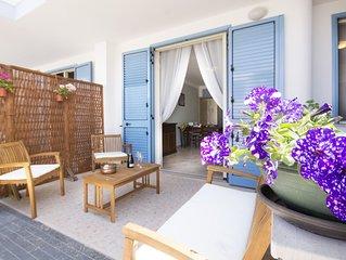 Luminoso appartamento nel Salento a 120 metri dalla spiagge dorate del mar Ionio