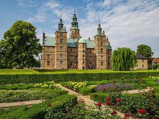 Fantastic apartment, adjacent to Rosenborg Castle, Nyhavn and Stroget
