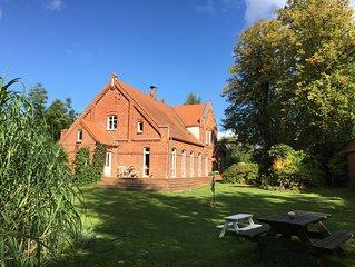 Altes Bauernhaus an der Ostsee,  mit Terrasse