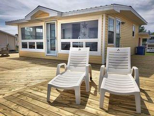 Ferienhaus direkt am Meer, mit eigenem Strand.