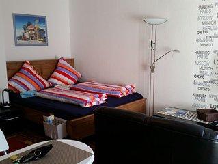 Apartment | Ferienwohnung | Messezimmer Düsseldorf mit Balkon