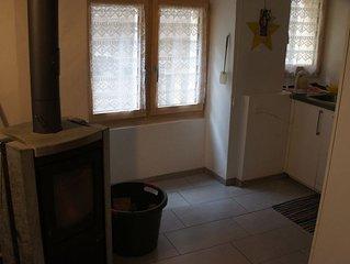 Schöne 4 Zimmer Wohnung im alten Dorf von Naters bis zu 9 Gästen