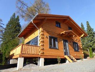 5 Sterne Blockhauser mit Sauna + Kamin im Alpen - Chalet - Stil, Comfort 'Hutte'