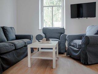 Modern eingerichtete Ferienwohnung in Halle Saale bis 5 Personen