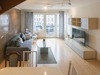 Die 90 qm große Wohnung liegt im Herzen von Hamburg und ist sehr ruhig gelegen