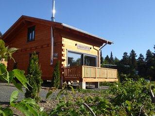 5 Sterne Blockhäuser mit Sauna + Kamin im Alpen - Chalet - Stil, Relax 'Hütte'