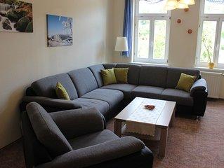 Ferienwohnungen im Harz, Große FeWo 7 mit 3 Schlafzimmern - 6 Personen, Hund ok.