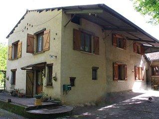 Maison en périgord en bordure de la Dordogne
