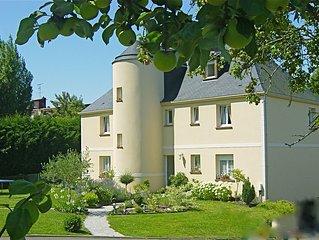 Grand studio 37m2 vue mer dans villa contemporaine a Trouville sur mer Calvados